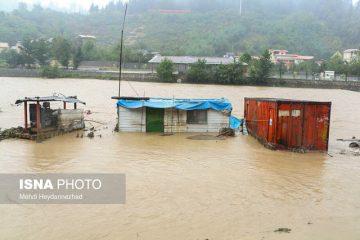 افزایش فوتیها به 7 نفر/گزارش بیشترین تخریب سیل در غرب مازندران/ نجات 400 خانوار در گیلان