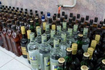کشف و ضبط مشروبات الکی داخل ظرف آبمیوه و آب معدنی