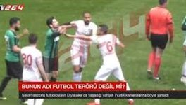 تیغکشی منصور چالار؛ عجیبترین اتفاق فوتبال جهان