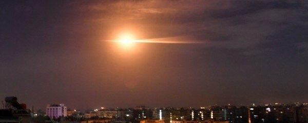 پدافند هوایی سوریه «موشکهای متخاصم» را سرنگون کرد