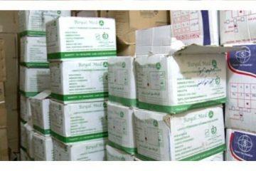 کشف یک انبار کالای بهداشتی احتکار شده در نوشهر