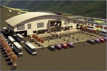 سالن مسافری پایانه مرز سرو درارومیه آماده بهره برداری شد