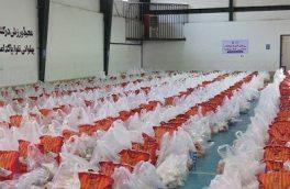 توزیع بیش از ۲ هزار و ۷۰۰ بسته معیشتی