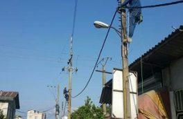 استمرار خدمات برقرسانی در توزیع نیروی برق غرب مازندران در شرایط کرونا