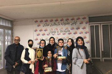 نوری ها درجشنواره تئاتر کودک و نوجوان استان مازندران خوش درخشیدند