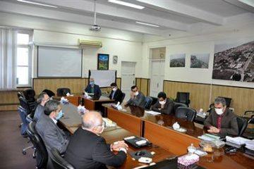 نشست مدیریت شعب بانک صادرات مازندران با معاون اداری و مالی دانشگاه مازندران