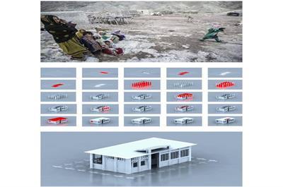 پروژه طراحی مسکن موقت پس از سانحه، فینالیست جایزه معتبر ASIA DESIGN PRIZE 2021 شد