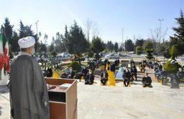 آیین نکوداشت ایامالله دهه مبارک فجر در دانشگاه مازندران